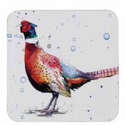 Set Of 4 Pheasant Coasters