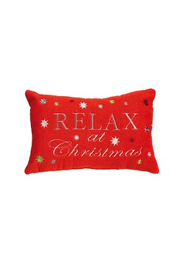 Relax at Christmas Bath Pillow