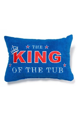 King Of The Tub Bath Pillow