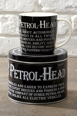 Petrol Head Mug In A Tin