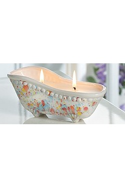 Victorian Bath Tub Candle