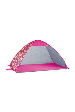 UPF40 Pop Up Beach Tent - Hibiscus
