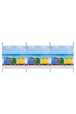 Beach Hut 4 Pole Standard Printed W...