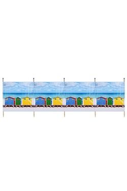 Beach Hut 5 Pole Windbreak