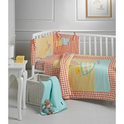 Owl And Pussycat 5-Piece Cot/Cot Be...