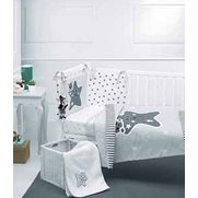Star 5-Piece Cot/Cot Bed Bedding Set