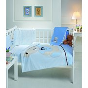 Teddy With Shirt 5-Piece Cot/Cot Be...