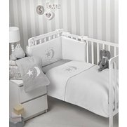 Moon & Stars 3-Piece Cot/Cot Bed Be...