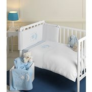 Moon & Stars 3-Piece Crib Bedding Set