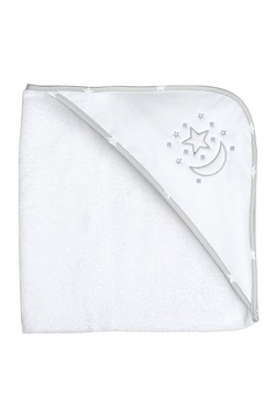 Moon And Stars Hooded Towel