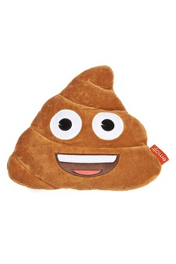 Emoji Poop Cushion