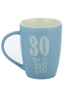 30th Sherbet Fizz Mug