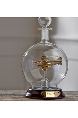 Glass Decanter With Plane - Lancast...