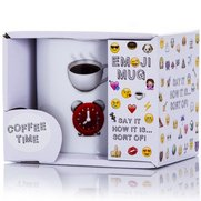Emoji Mug: Coffee Time