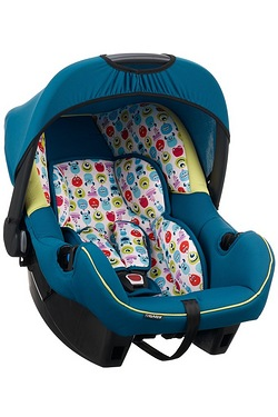 Monsters Inc Disney 0+ Car Seat