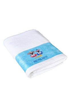 Pug Pool Party Towels