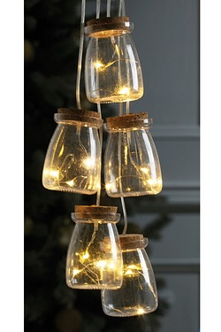 Retro LED Mini Bottle String Lights
