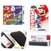 Nintendo 3DS XL Black Console + Cha...