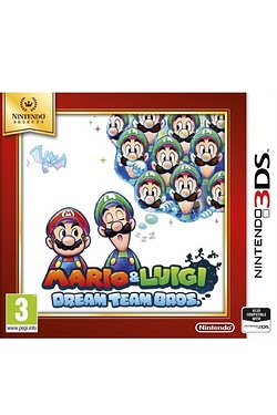 Nintendo Selects Mario and Luigi: Dream Team Bros.