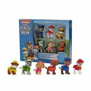Paw Patrol Set Of 6 3D Puzzle Erasers