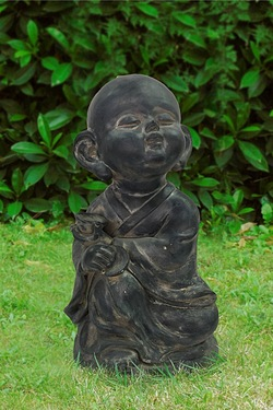 Happy Buddha Garden Ornament