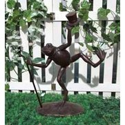 Dancing Frog Garden Ornament