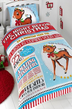 The Night Before Christmas Duvet Set