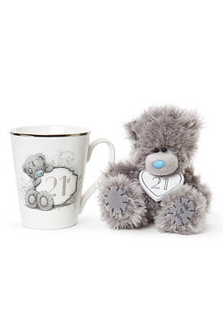 Me To You: 21st Mug & Plush