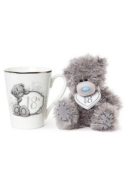 Me To You: 18th Mug & Plush