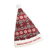 Ugly Knit Santa Hat - Man Utd