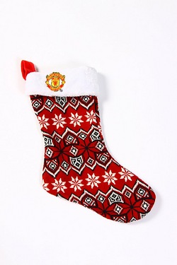 Ugly Knit Stocking - Man Utd