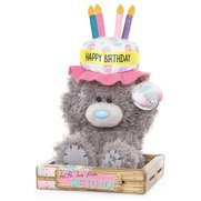 Me To You: Birthday Cake Hat Bear