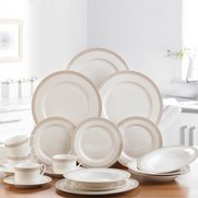 20-Piece Gold Spiral New Bone China...
