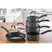 Tefal Inspire 5-Piece Hard Anodised...