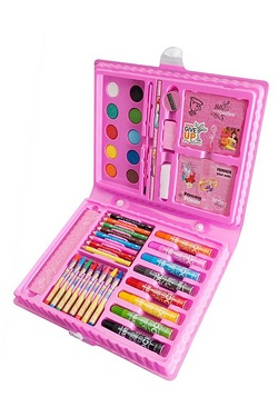 Disney Princess 52 Piece Art Case Set