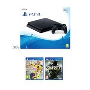 PS4 Slim 500GB Black Console + Fifa...