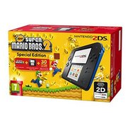 Nintendo 2DS: Black/Blue + New Supe...