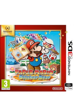 3DS: Nintendo Selects Paper Mario Sticker Star