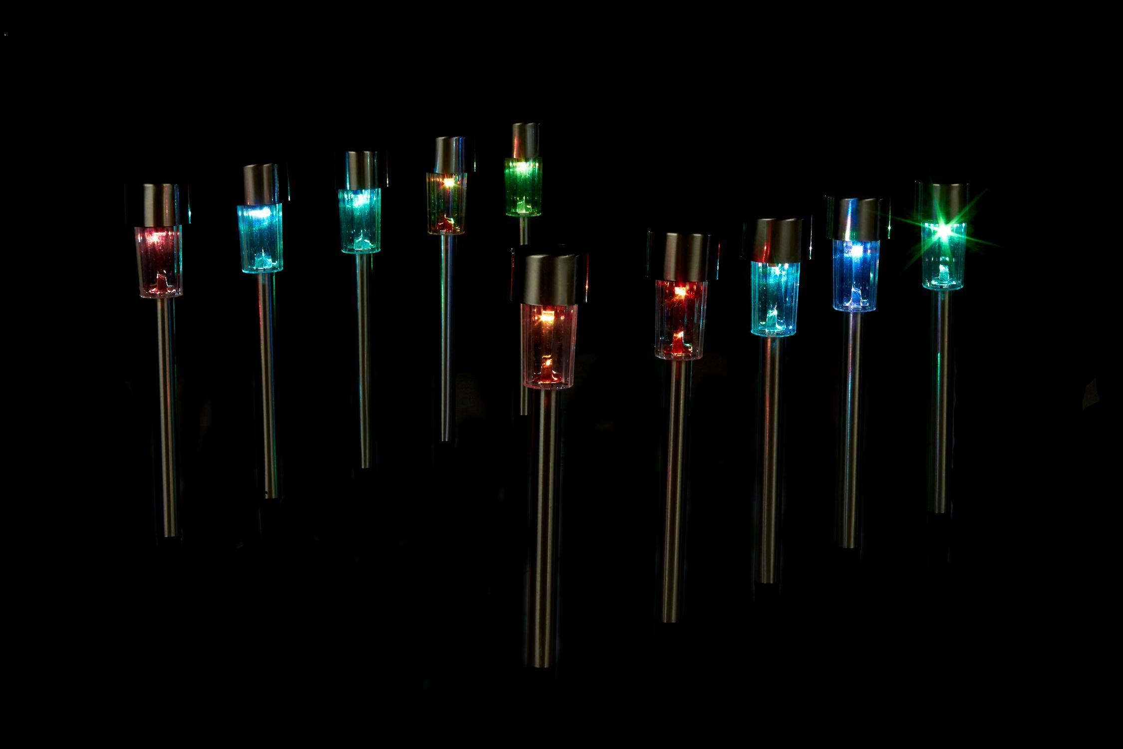 Lovely Stainless Steel solar Lights