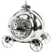 Silverplated Fairytale Carriage Mon...