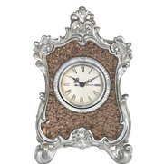 Lille Bronze Mosaic Table Clock