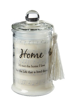 Home Candle In A Jar