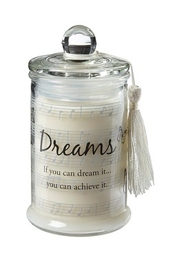 Dreams Candle In A Jar