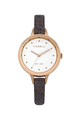 Ladies Fiorelli Watch With Faux Pon...