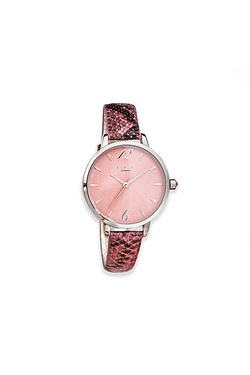 Ladies Lipsy Pink Snake Watch