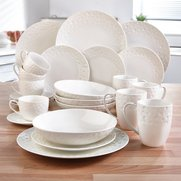24-Piece New Bone China Dinner Set ...