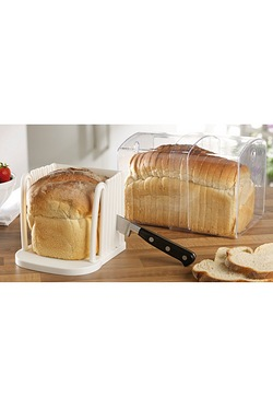 Expanding Stay Fresh Bread Cutter