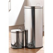30 Litre Stainless Steel Bin Plus 5...