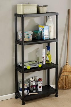 4 Tier Universal Shelf Unit