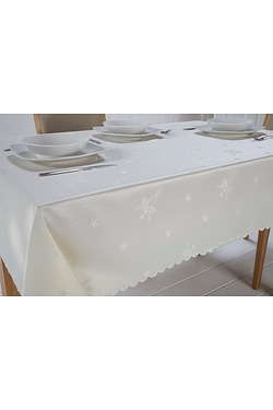 Christmas Candles Tablecloth